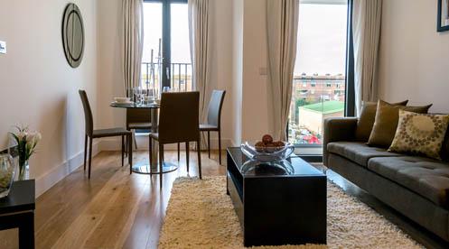 Portobello Square W10 Living Area